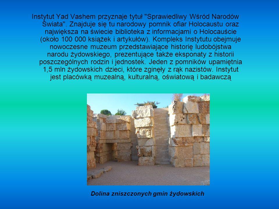 Dolina zniszczonych gmin żydowskich