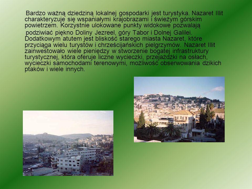 Bardzo ważną dziedziną lokalnej gospodarki jest turystyka