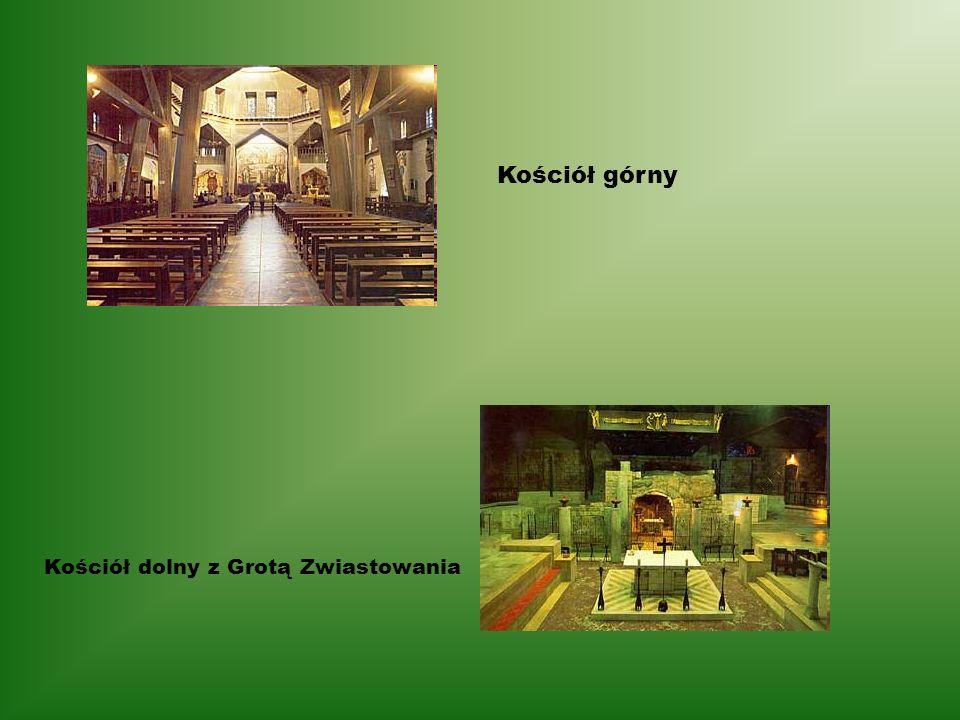 Kościół górny Kościół dolny z Grotą Zwiastowania