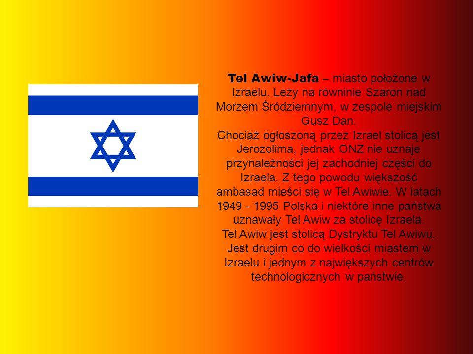 Tel Awiw-Jafa – miasto położone w Izraelu