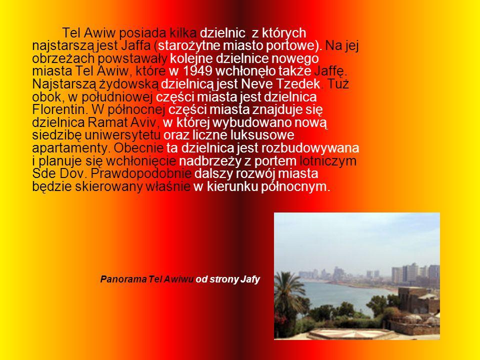 Panorama Tel Awiwu od strony Jafy