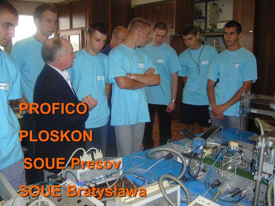 PROFICO PLOSKON SOUE Presov SOUE Bratysława