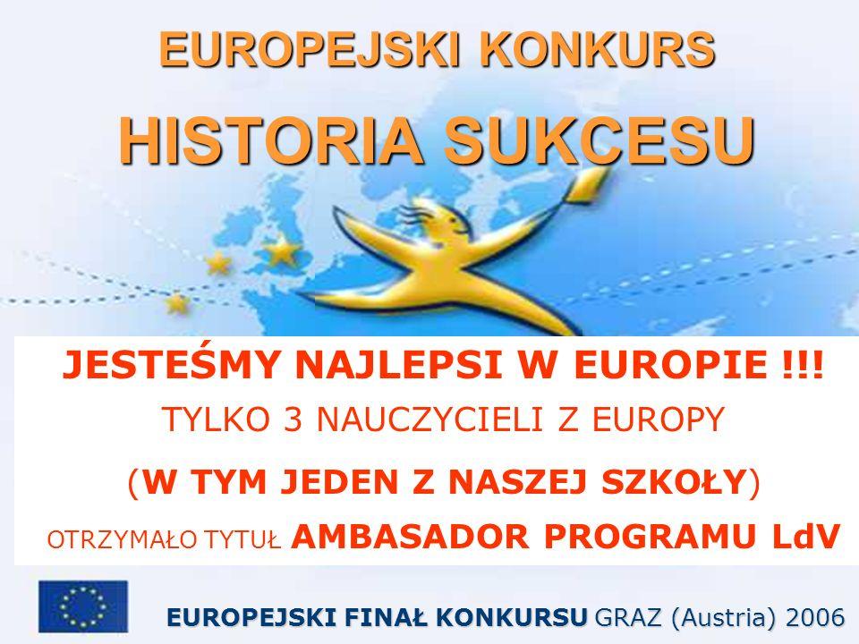 EUROPEJSKI KONKURS HISTORIA SUKCESU