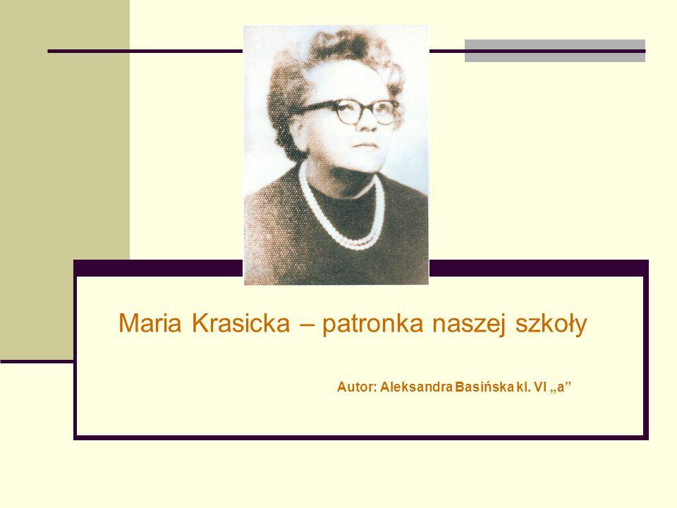 """Autor: Aleksandra Basińska kl. VI """"a"""