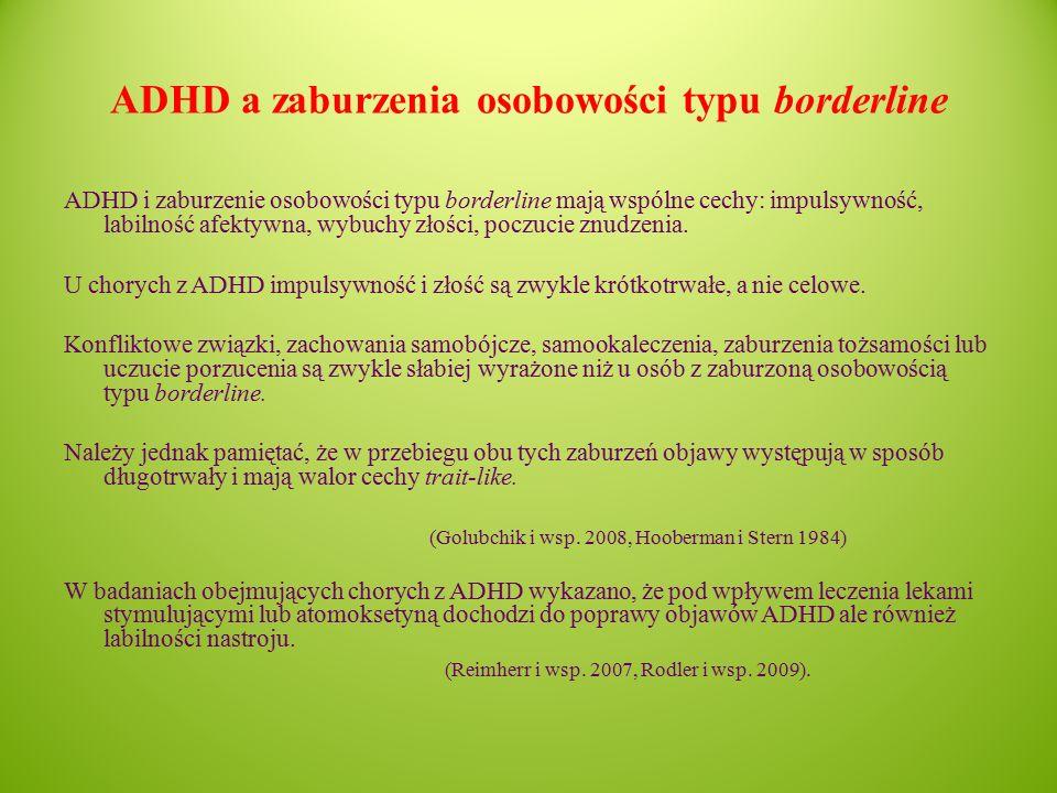 ADHD a zaburzenia osobowości typu borderline