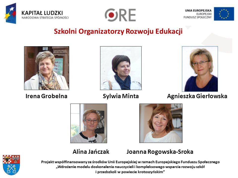Szkolni Organizatorzy Rozwoju Edukacji Joanna Rogowska-Sroka