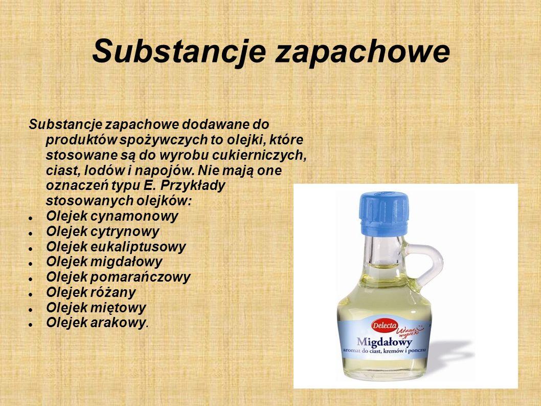 Substancje zapachowe