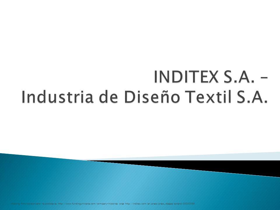 INDITEX S.A. – Industria de Diseño Textil S.A.