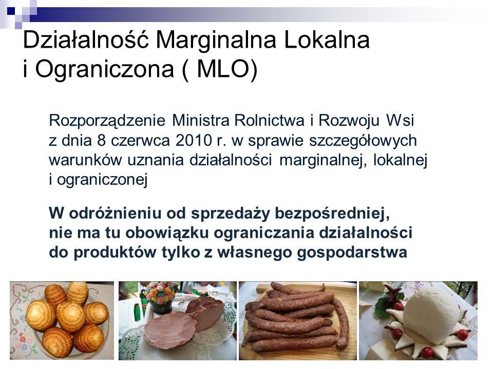 Działalność Marginalna Lokalna i Ograniczona ( MLO)