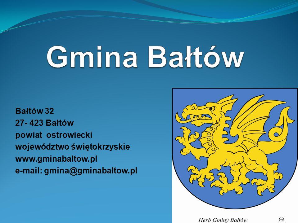 Gmina Bałtów Bałtów 32 27- 423 Bałtów powiat ostrowiecki