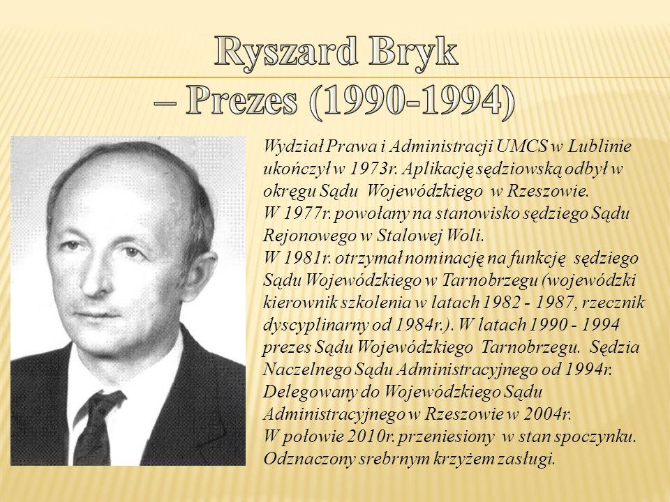 Ryszard Bryk – Prezes (1990-1994)
