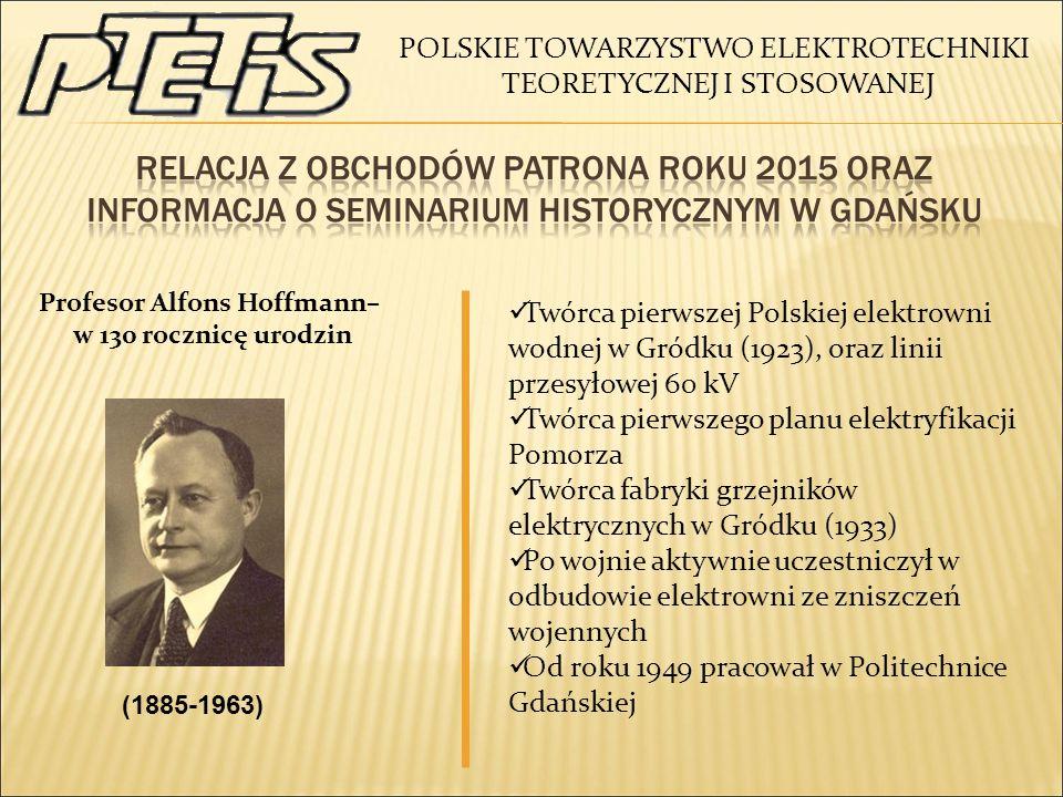 Profesor Alfons Hoffmann–
