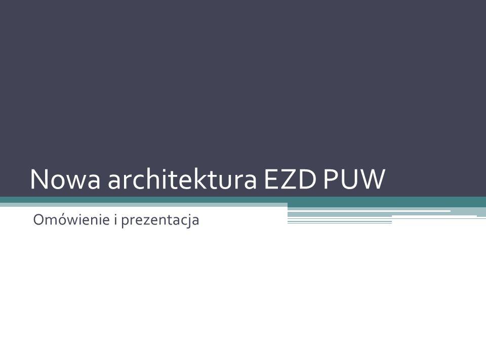 Nowa architektura EZD PUW
