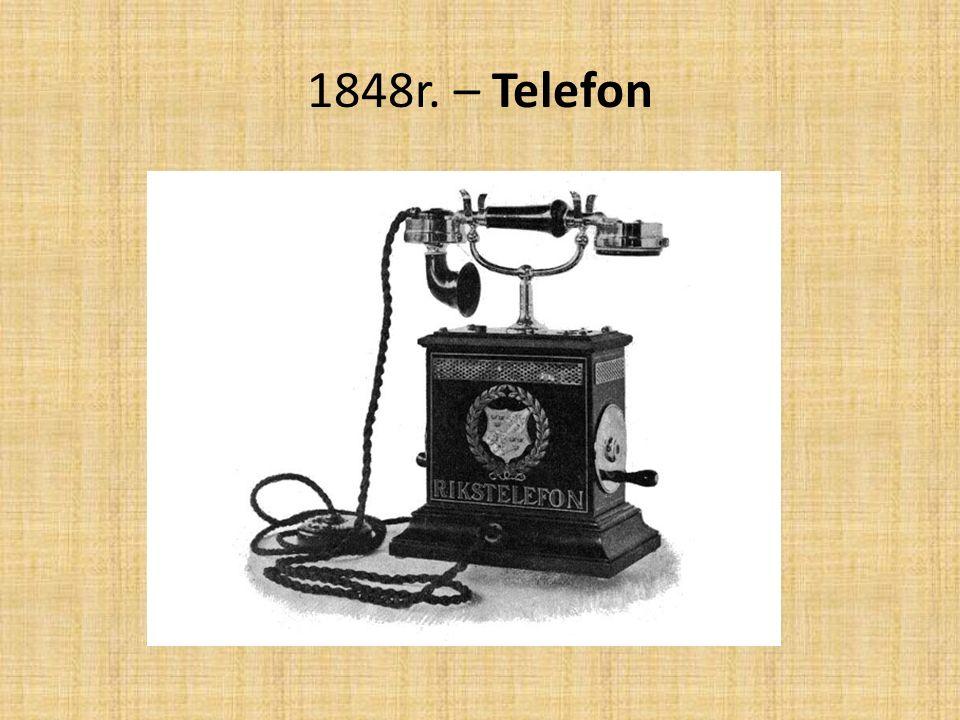 1848r. – Telefon