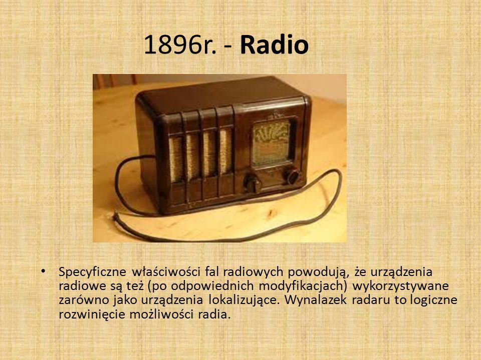 1896r. - Radio