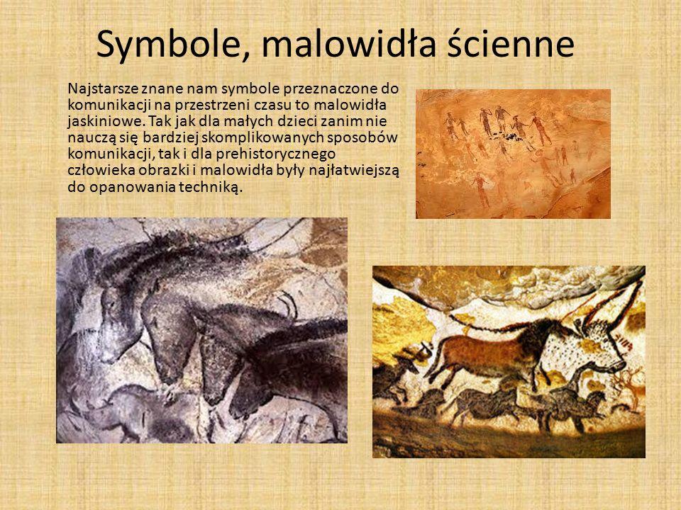 Symbole, malowidła ścienne