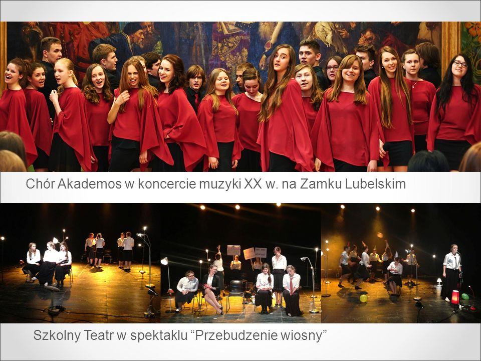 Chór Akademos w koncercie muzyki XX w. na Zamku Lubelskim