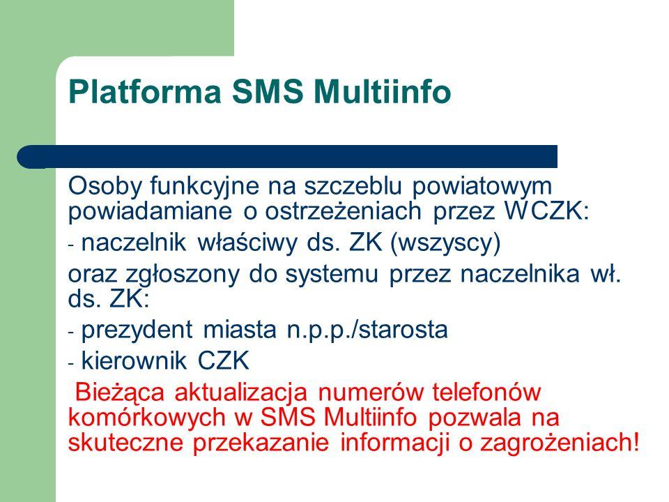 Platforma SMS Multiinfo