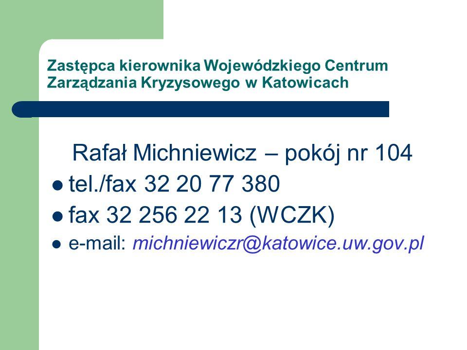 Rafał Michniewicz – pokój nr 104