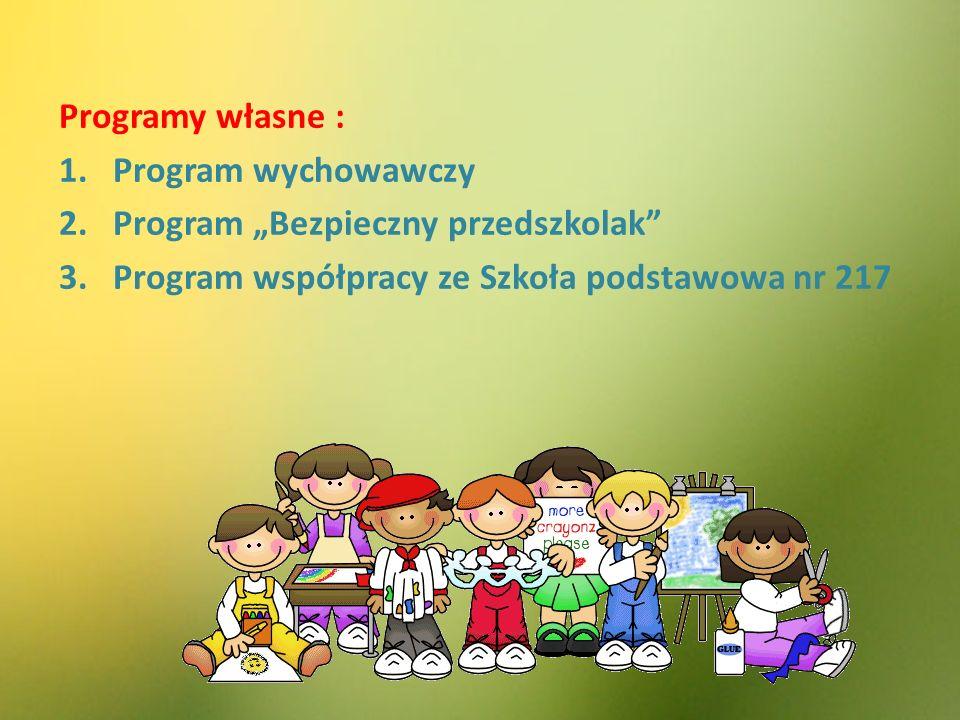 Programy własne : Program wychowawczy.
