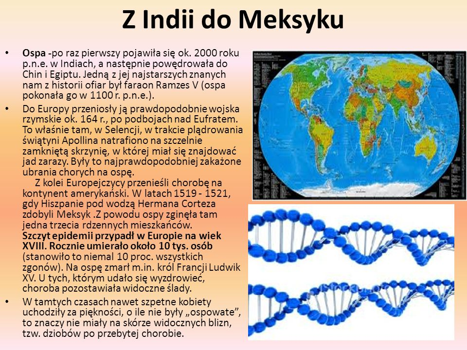 Z Indii do Meksyku