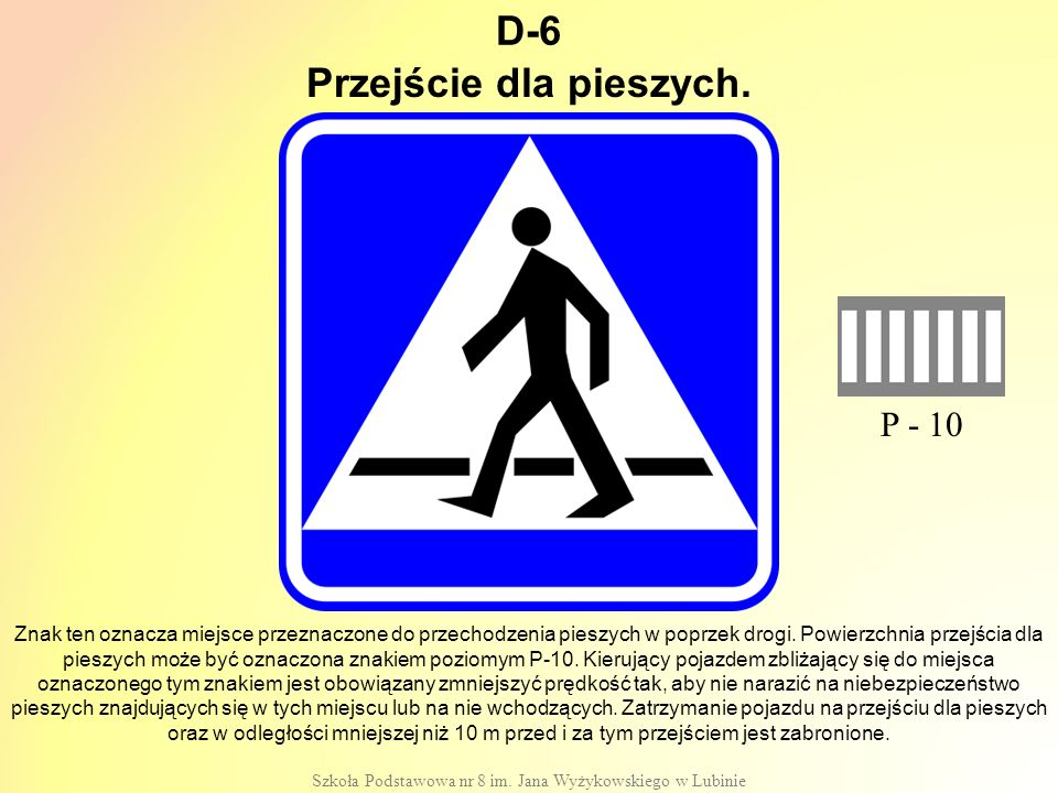 Przejście dla pieszych.