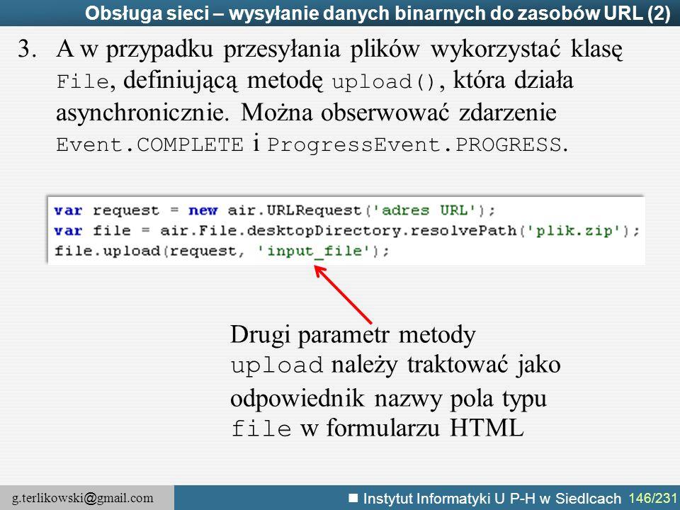 Obsługa sieci – wysyłanie danych binarnych do zasobów URL (2)