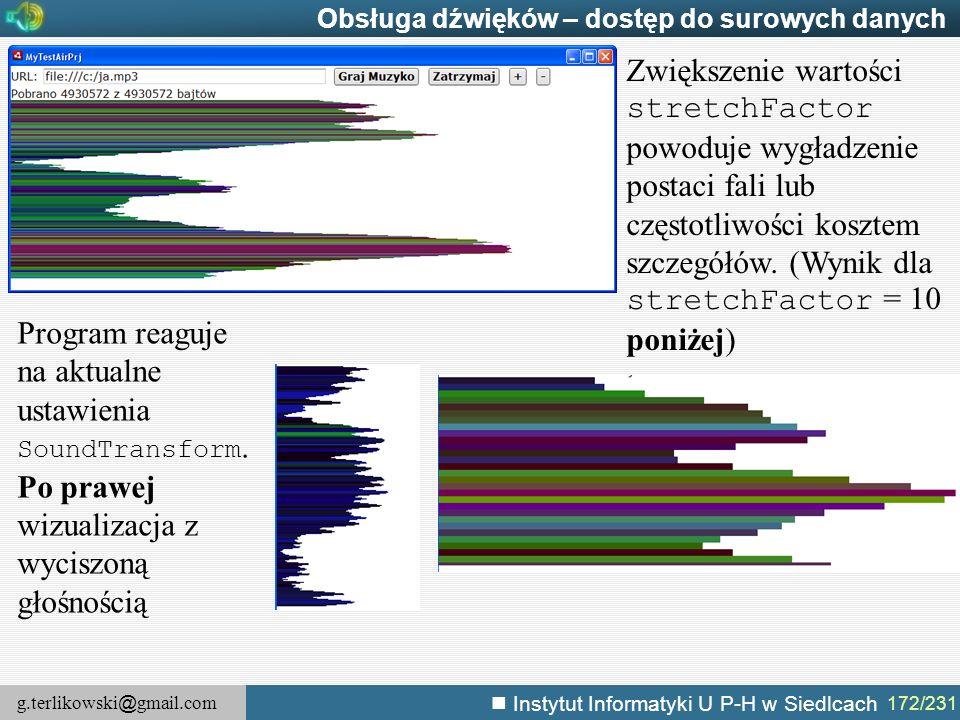 Obsługa dźwięków – dostęp do surowych danych