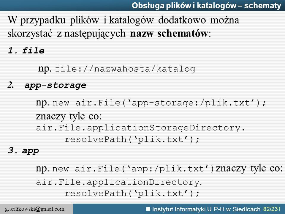 np. new air.File('app-storage:/plik.txt'); znaczy tyle co: