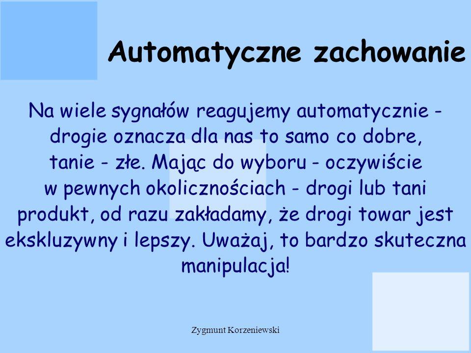 Automatyczne zachowanie