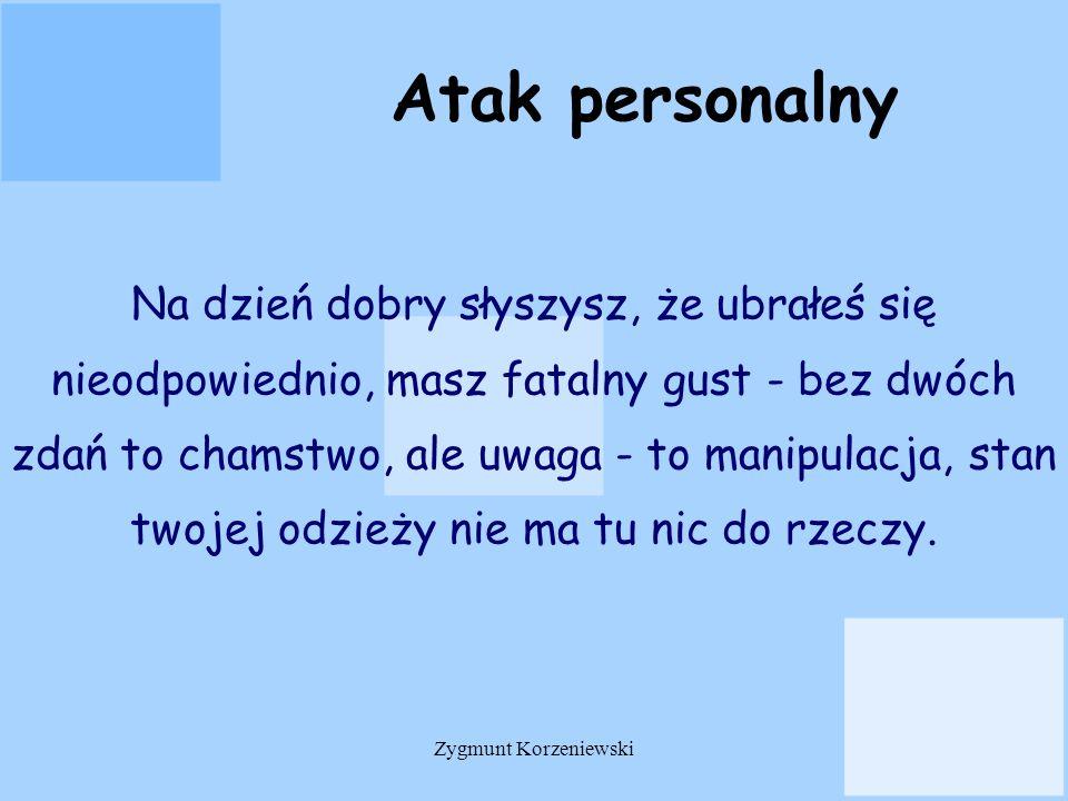Atak personalny