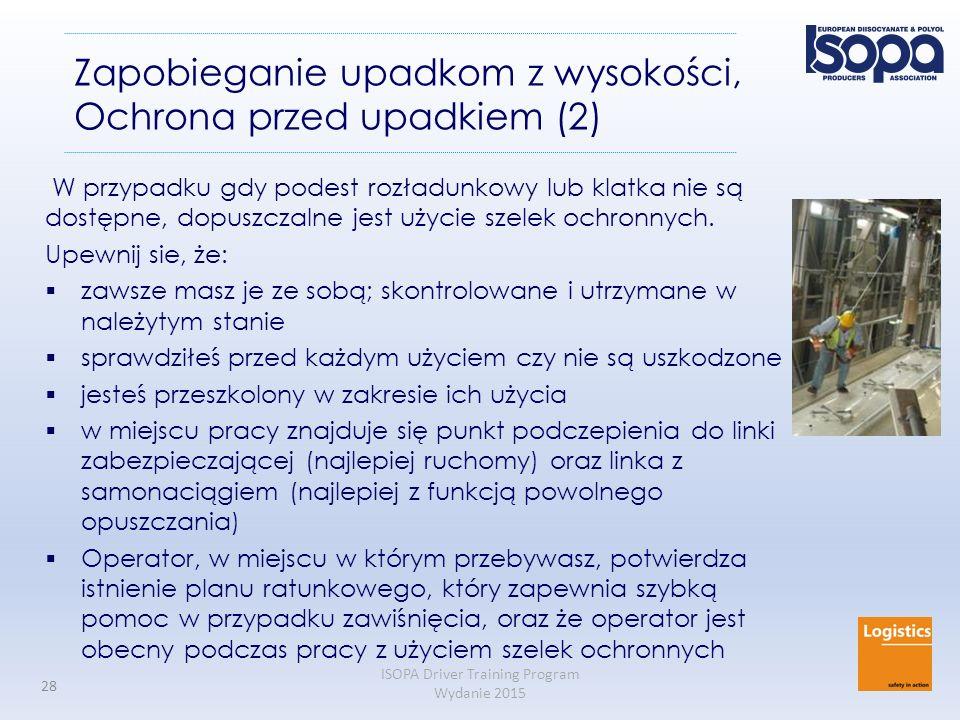 Zapobieganie upadkom z wysokości, Ochrona przed upadkiem (2)