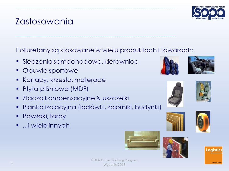 Zastosowania Poliuretany są stosowane w wielu produktach i towarach: