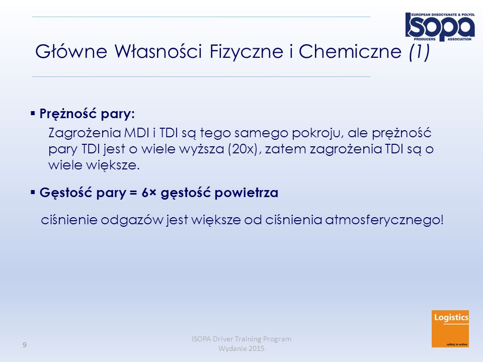 Główne Własności Fizyczne i Chemiczne (1)