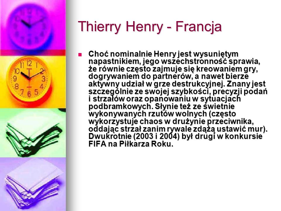 Thierry Henry - Francja