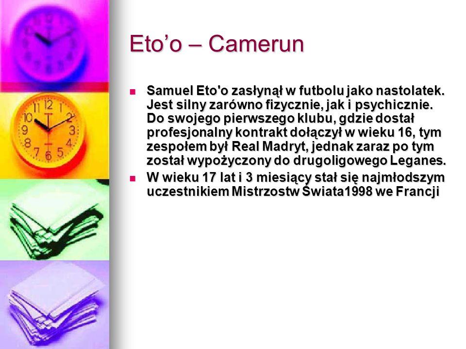 Eto'o – Camerun