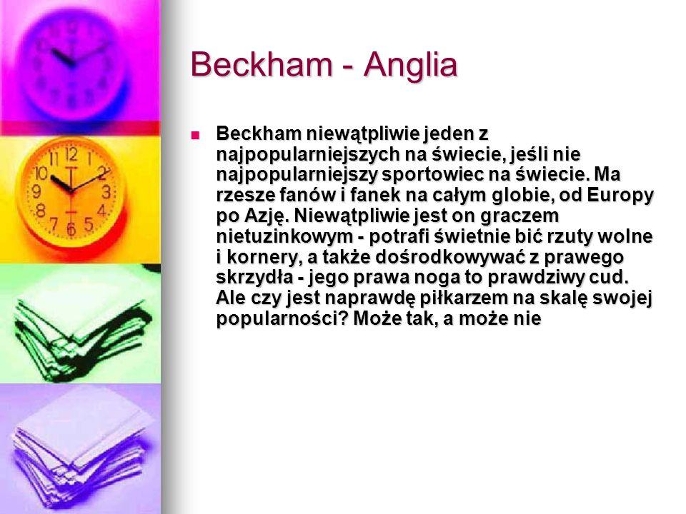 Beckham - Anglia