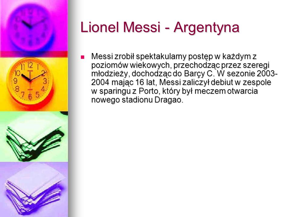 Lionel Messi - Argentyna