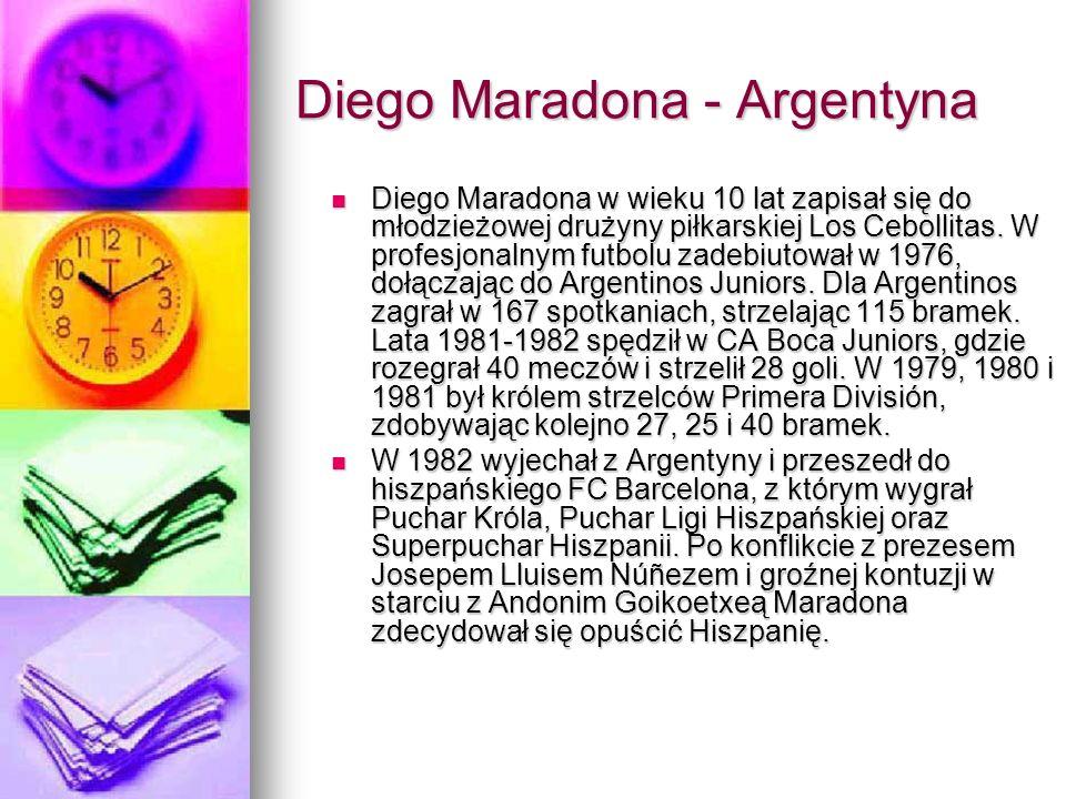 Diego Maradona - Argentyna