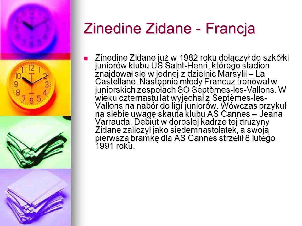 Zinedine Zidane - Francja
