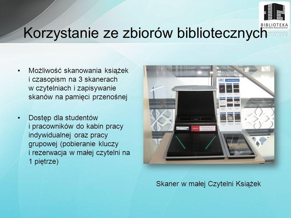 Korzystanie ze zbiorów bibliotecznych