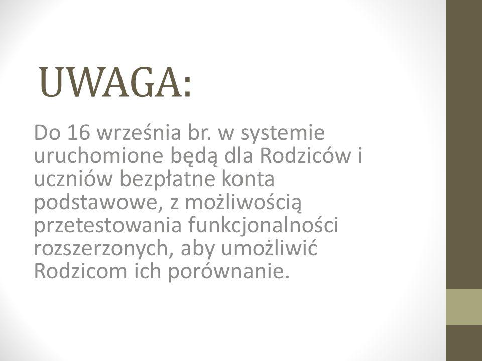 UWAGA: