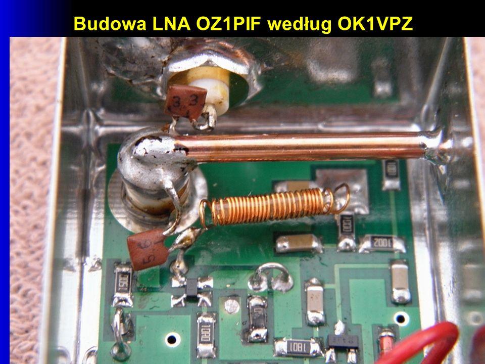 Budowa LNA OZ1PIF według OK1VPZ