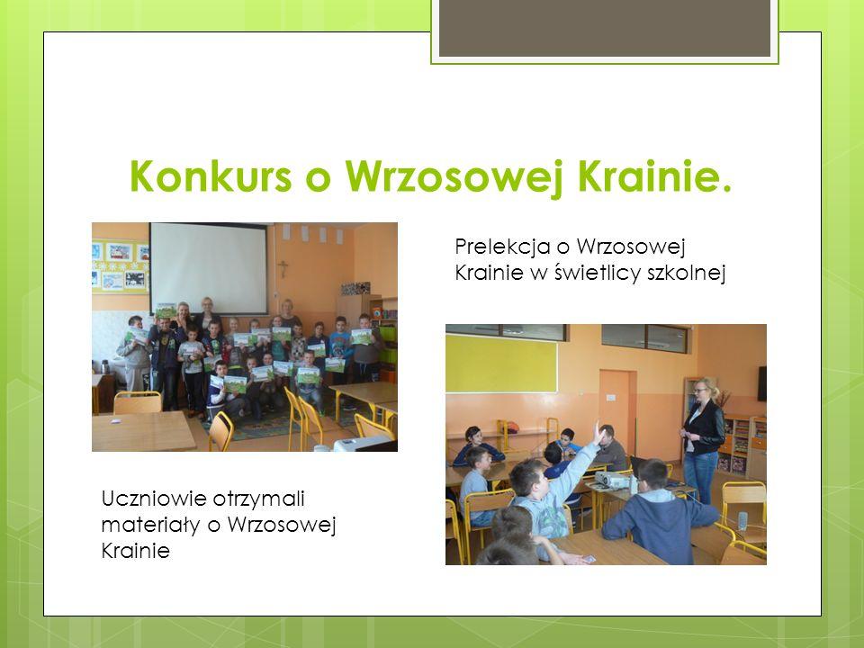 Konkurs o Wrzosowej Krainie.
