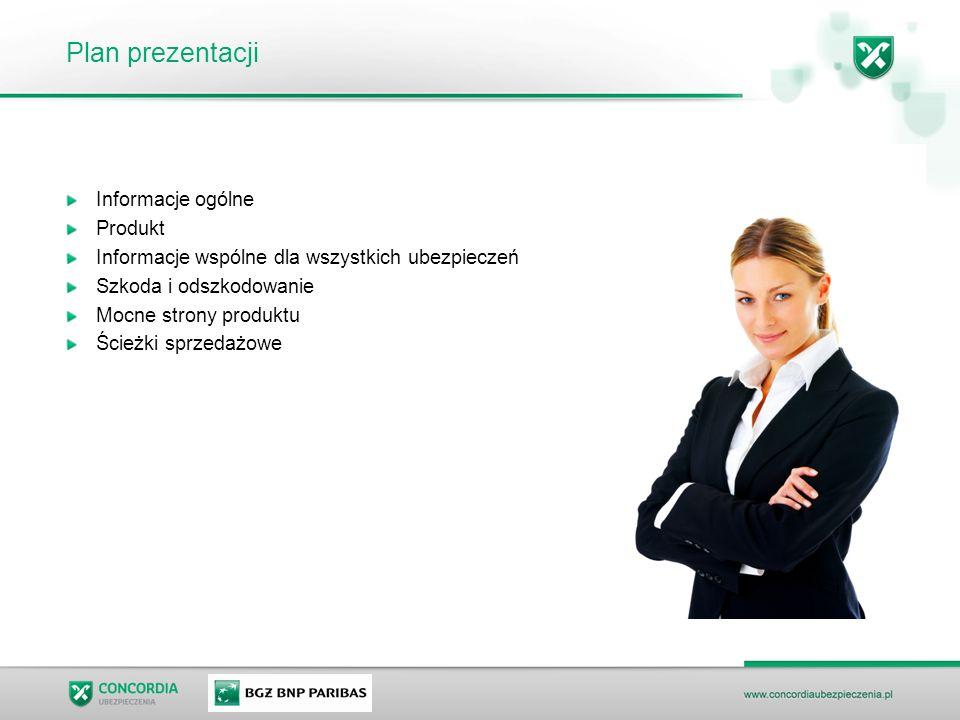 Plan prezentacji Informacje ogólne Produkt