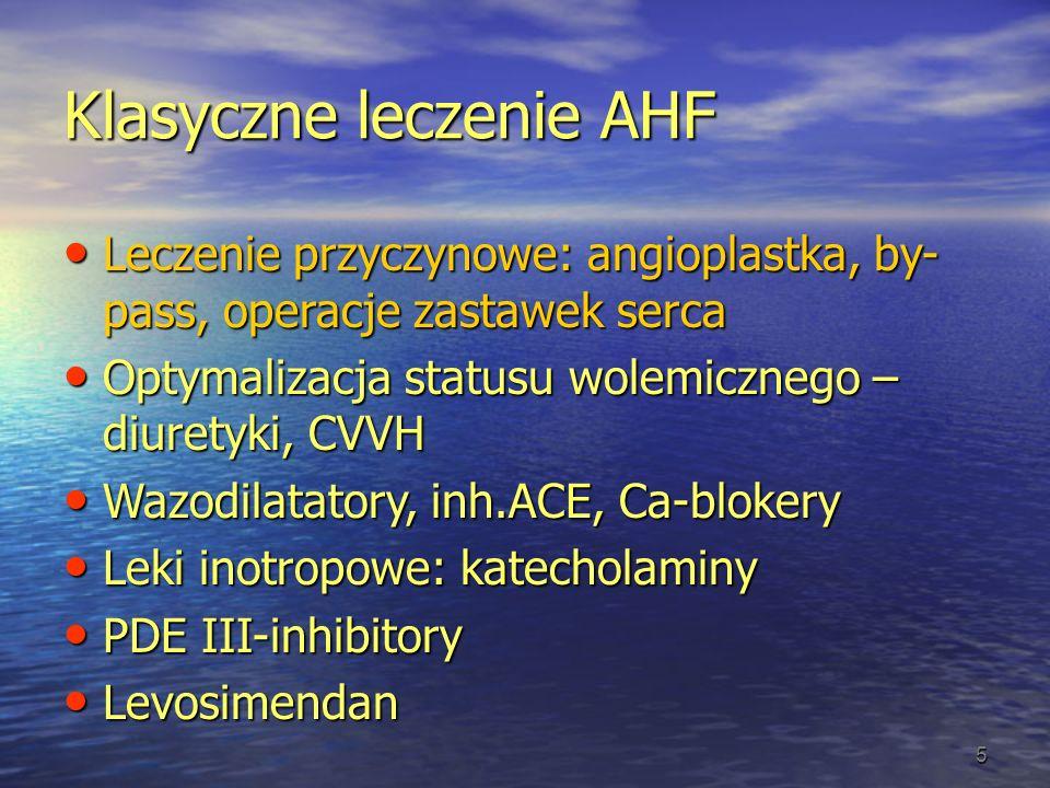 Klasyczne leczenie AHF