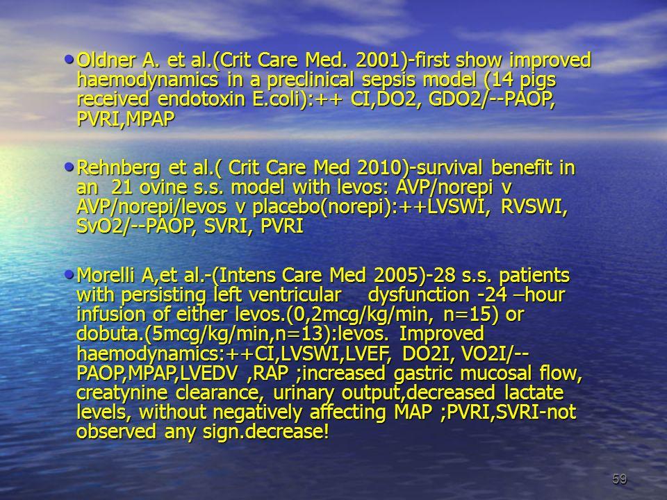 Oldner A. et al. (Crit Care Med