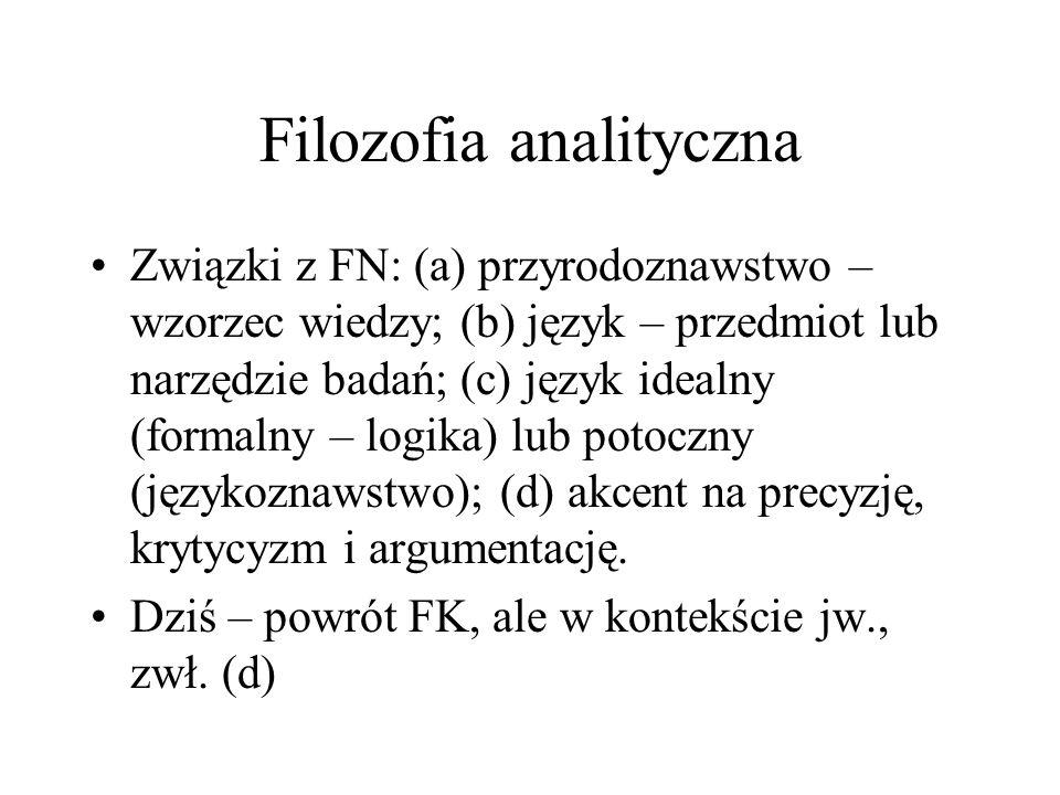 Filozofia analityczna