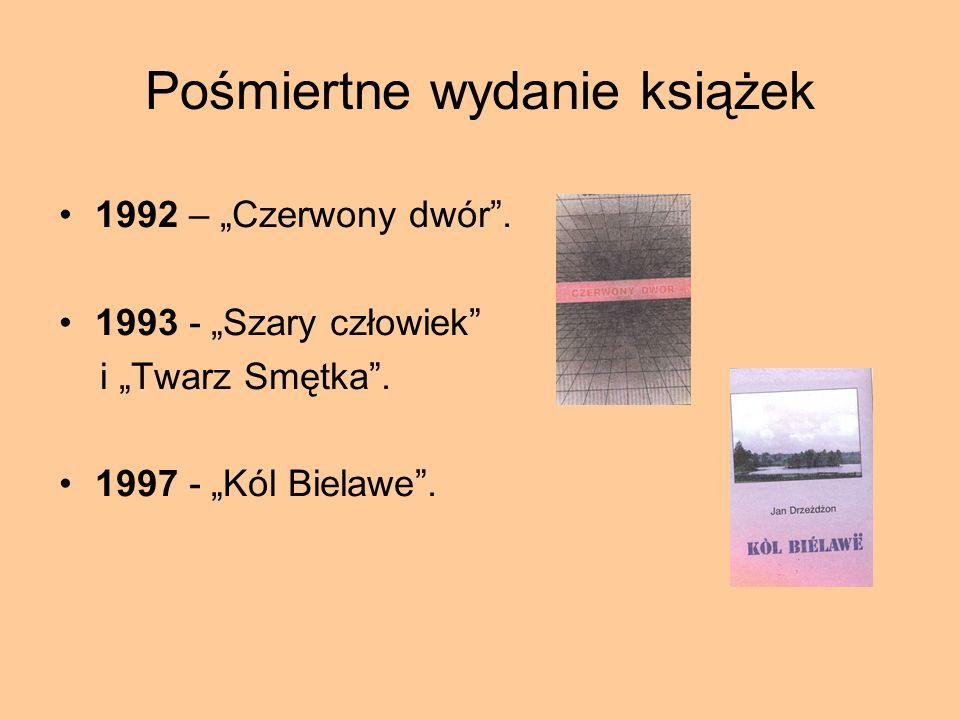 Pośmiertne wydanie książek