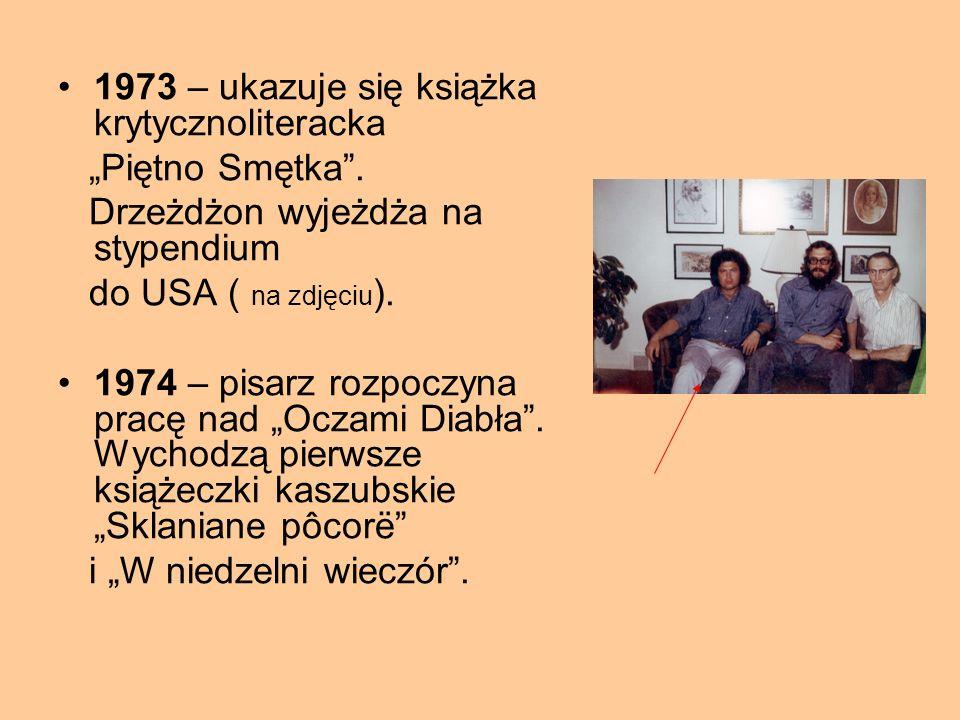 1973 – ukazuje się książka krytycznoliteracka